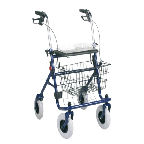 KLD802 Standard Steel Rollator With Big Seat