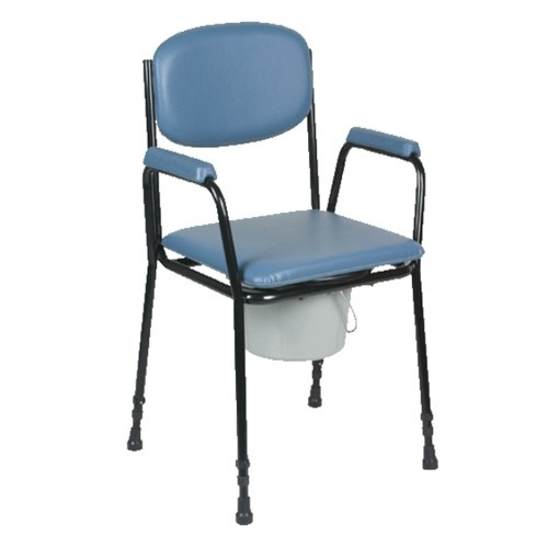 KLD604 Steel Fixed Commode Chair