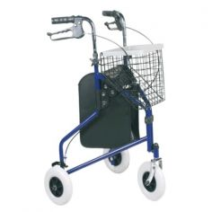 KLD853 Steel Three Wheeled Rollator